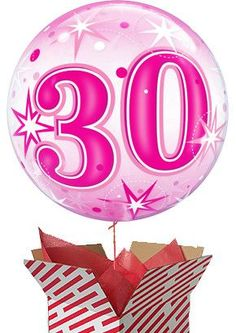 Are you looking for a birthday present idea for a friend or relative? Why not give them a big surprise and send our Large Pink Starburst Sparkle Birthday Balloon? Delivered in a large stripy box for maximum impact. Gifts For 18th Birthday, 21st Birthday, 60th Birthday Balloons, Pink Starburst, Birthdays, Sparkle, 50th, Big, Anniversaries