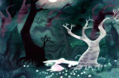 Cinderella - Mary Blair - Concept Art Mary Blair, Cinderella Art, Cinderella Cartoon, Environment Sketch, Disney Artists, Disney Concept Art, Old Disney, Fairytale Art, Visual Development