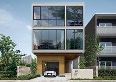 パルコン ベイル | 外観デザイン | 戸建 | 地震に強い家 コンクリート住宅 パルコン | Palcon 大成建設ハウジング