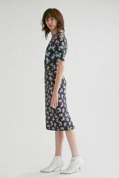 Yigal Azrouël Pop Art Floral Scuba Dress - 2