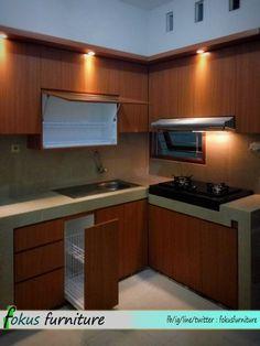 kitchen set letter L murah jakarta timur