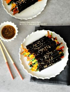 Korean Food, Vegan Recipes, Beverages, Food And Drink, Meals, Cooking, Cake, Desserts, Kitchens