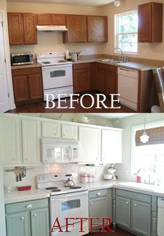 BEAUTIFUL kitchen remodel that I might just have to copy!
