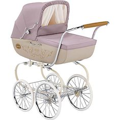 YES, this is so chic.  Inglesina Classica Camelia Pink Pram/Stroller