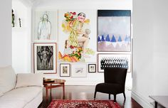 The Elsternwick home of Helen Gory. Photo – Annette O'Brien. Production – Lucy Feagins / The Design Files.
