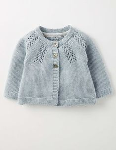 Soft Bluebell Cosy Baby Cardigan Boden                                                                                                                                                                                 More