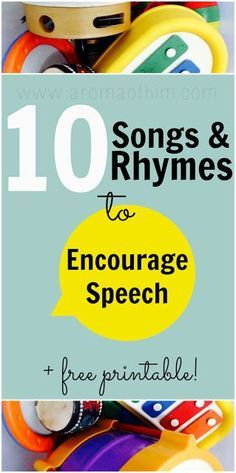 Encouraging Speech with Songs, Rhymes & Puppets and free printable #homeschool #speech Repinned by SOS Inc. Resources pinterest.com/sostherapy/. (scheduled via http://www.tailwindapp.com?utm_source=pinterest&utm_medium=twpin&utm_content=post1415705&utm_campaign=scheduler_attribution)