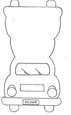 car card template: