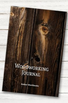 Plan your next woodworking project with the help of this note book, with a materials list and special pages for sketches to flesh out your ideas. Woodworking Journal, Woodworking Projects, Project Planner, The Help, Sketches, Notebook, Notes, Aide, Gifts