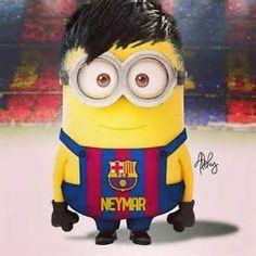 minions neymar