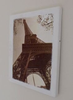 Trends With Benefits: DIY: How To Transfer Photos Onto Canvas