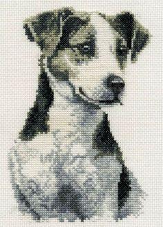 Jack Russell - Cross Stitch Chart