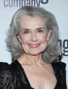 Mary Beth Piel, Actress [Aging gracefully with gray hair.]