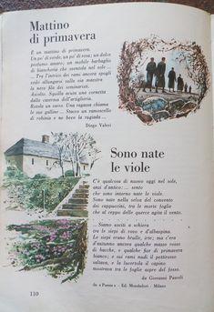 Enough Book, Italian Words, Vintage School, Pablo Neruda, Education, Children, Books, Italian Language, Spring