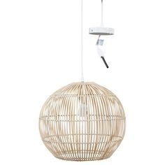 hanglamp-bamboe Lamp, Ceiling Lights, Lamp Light, Home Decor, Home Lighting, Home Deco, Pendant Light, Light, Living Design