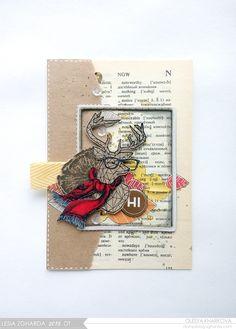 As if by magic by Olesya Kharkova: Hipster deer или Приключение оленя