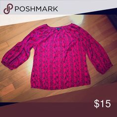 Shirt Beautiful pink silk top GAP Tops Blouses