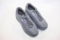NEW Gravity Defyer Women's FLEXNET II Sneakers Grey Purple Running Retail $139 #GravityDefyer #RunningCrossTraining