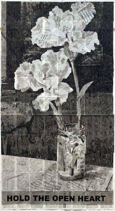 Find the latest shows, biography, and artworks for sale by William Kentridge. In his drawings and animations, William Kentridge articulates the concerns of p… Flower Images, Flower Art, William Kentridge Art, South African Artists, Artist Sketchbook, Plant Drawing, Art Boards, Printmaking, Art Drawings