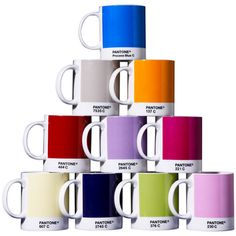 Perfect. Total nerd for wanting Pantone swatch mugs? Probably.