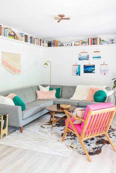 Emma's Main Living Room Tour - A Beautiful Mess