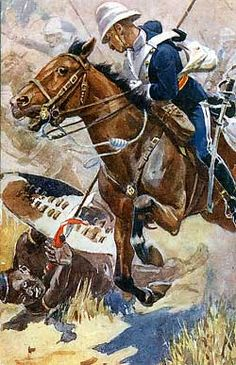 17th Lancers at the Battle of Ulundi 4th July 1879