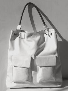 Gapock Travel Handbag Black and White by IMPERIO jp