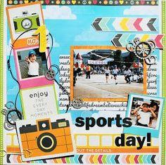 sports day! - Scrapbook.com