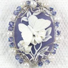 butterfly cameo