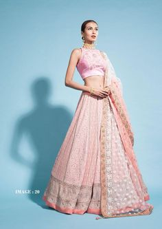 Looking for a Chikankari Lehenga for your wedding? Don't know what it costs or which designer to go to. Check out the best chikankari lehengas with PRICE. Banarasi Lehenga, Indian Lehenga, Anarkali, Pakistani, Indian Dresses, Indian Outfits, Western Dresses, Indian Attire, Indian Clothes