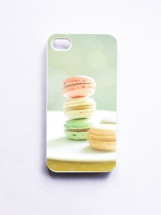 iPhone Case French Macaroons Macaroon Photo White by happeemonkee