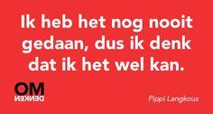 That's the spirit Pippi!