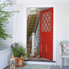 New England Chic - Ideas for Creating an Inviting Entryway - Coastal Living
