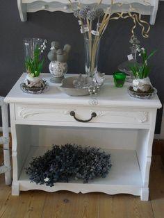 Kommoden - Kommode Shabby Klein Schublade Weiß - ein Designerstück von Die-Ideenschmiede bei DaWanda