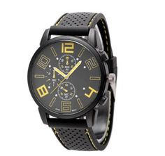 Outdoor Sport Watch Large Dial Racing Fashion Silicone Bands Army Men Curren Watches Quartz Wristwatch for Man Colock 122107 Races Fashion, Sport Fashion, Mens Fashion, Sport Watches, Watches For Men, Men's Watches, Army Men, Sport Man, Plein Air