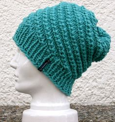 knitted cap, easy pattern