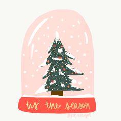Christmas Globes, Christmas Mood, Merry Little Christmas, Pink Christmas, Christmas Design, Christmas Phone Wallpaper, Holiday Wallpaper, Christmas Doodles, Christmas Drawing