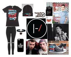"""""""Twenty-One Pilots"""" by rhytheme ❤ liked on Polyvore featuring art and bandsrytheme"""