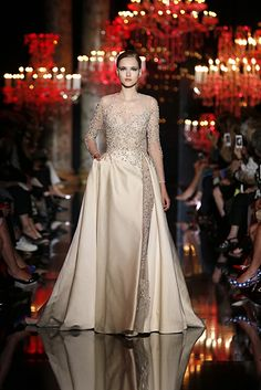 ELIE SAAB Haute Couture Fall Winter 2014-2015..Sexy Nude
