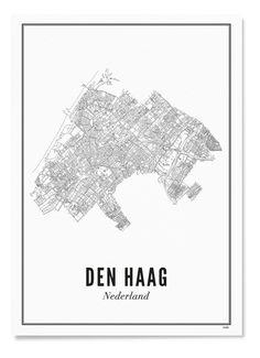 Wijck Den Haag Print - 29 euro - Bijenkorf