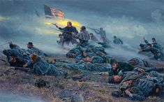 Mort Kunstler Civil War Art