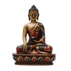 """4"""" x 6"""" Shakyamuni Buddha Statue at http://www.singingbowlzen.com/4-x-6-shakyamuni-buddha-statue/"""