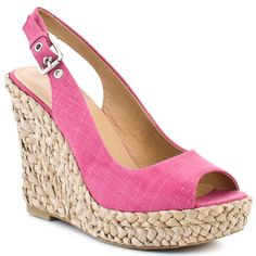 Do I *need* pink wedges? No. Do I want them Yes, please! $64.99