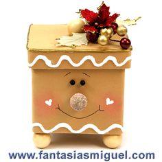 Cajas de madera pintadas a mano by azulkahlo on pinterest - Manualidades con cajas de madera ...