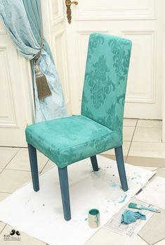 Dwa Ptaszki: Zmień oblicze mebla farbą kredową - Annie Sloan Painted Furniture, Diy Furniture, Annie Sloan, Chalk Paint, New Art, Accent Chairs, Dining Chairs, Couch, Antiques