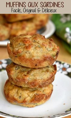 These sardine muffins are scrumptious savory muffins, good for an aperitif. With good dietary high quality, these sardine muffins are additionally our wholesome allies. Homemade Muffins, Savory Muffins, Zucchini Muffins, Healthy Muffins, Mini Muffins, Healthy Muffin Recipes, Donut Recipes, Pie Co, Cinnamon Roll Muffins