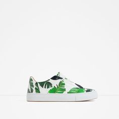 Image 1 of PALM TREE PRINT SNEAKERS from Zara