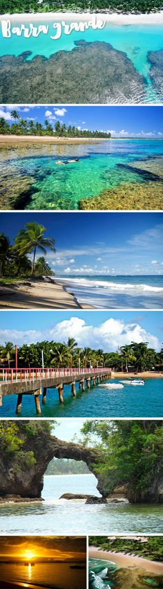 praias da bahia barra grande taipus de fora Beautiful Places To Visit, Cool Places To Visit, Wonderful Places, Places To Travel, Travel Destinations, Places To Go, Brazil Tourism, Brazil Travel, Places Around The World