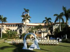 The Mar-a-Lago Club @Palm Beach is so very beautiful for a wedding with Florida Harpist @theelegantharp #MaraLagoclub #PalmBeach #wedding #FloridaWedding #ceremony #Harpist #harp #musician #luxurywedding #palmbeachwedding