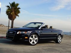 Black Audi Convertible, the car I've always wanted.